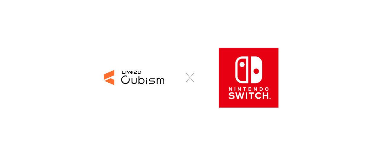 Live2D Cubism SDK for Nintendo Switch Logo