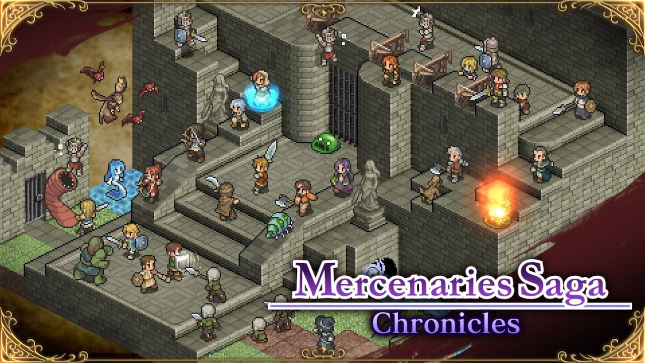 Mercenaries Saga Chronicles Review Header