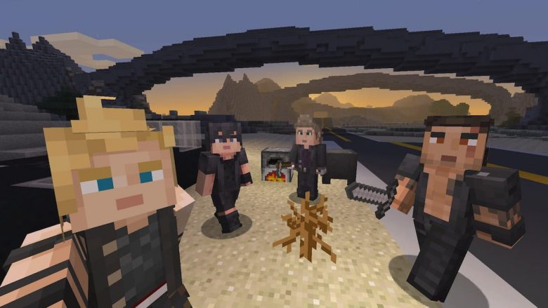 Minecraft Final Fantasy XV Skin Pack Screenshot