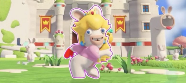 Rabbid Peach Just Dance 2018 Screenshot