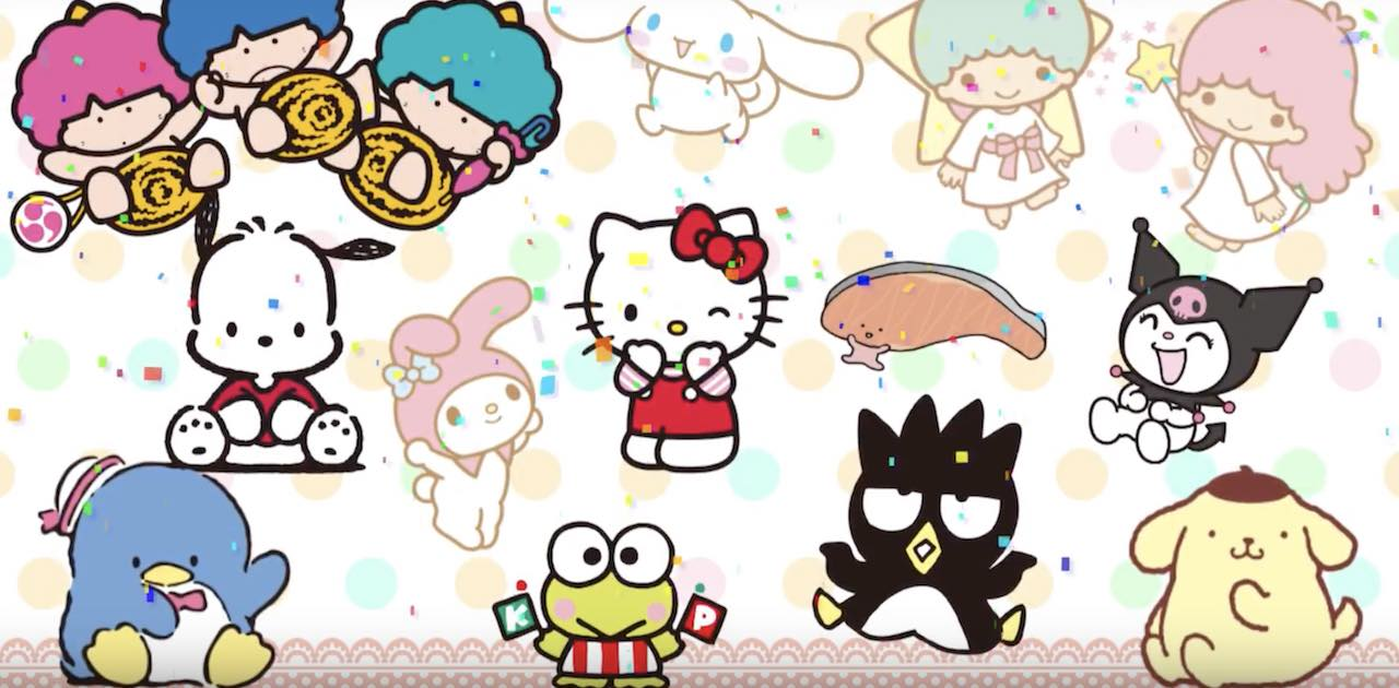 Sanrio Characters Picross Screenshot
