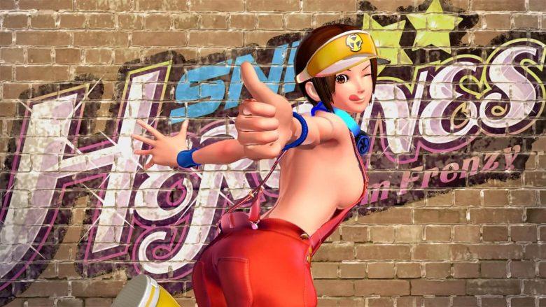 SNK Heroines: Tag Team Frenzy Customisation Mode Screenshot
