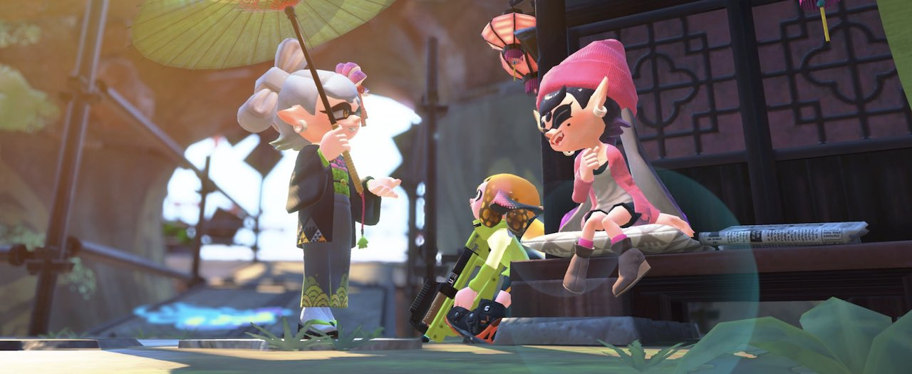 Splatoon 2 Callie Screenshot