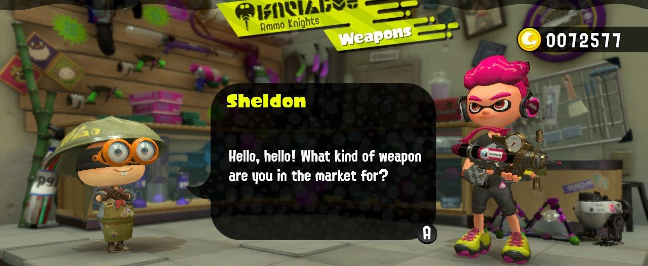 Splatoon 2 Sheldon Ammo Knights