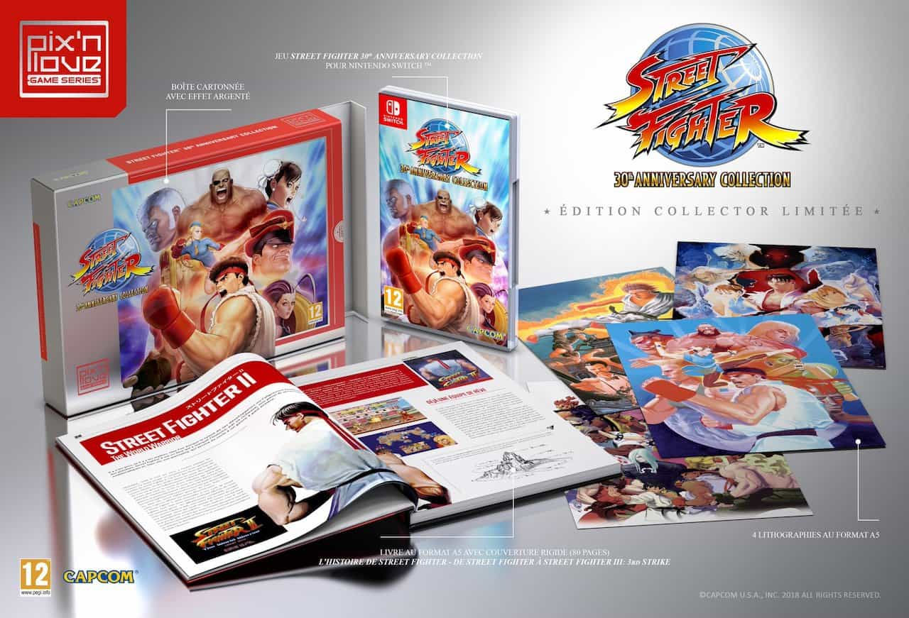 Street Fighter 30th Anniversary Limited Edition