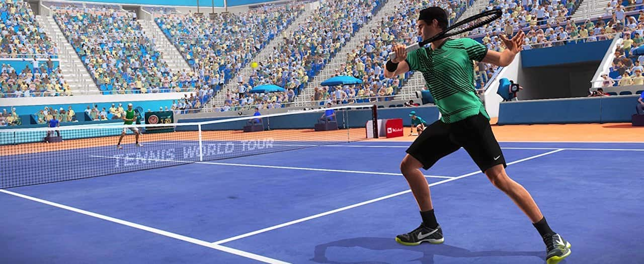 Tennis World Tour Roger Federer Screenshot
