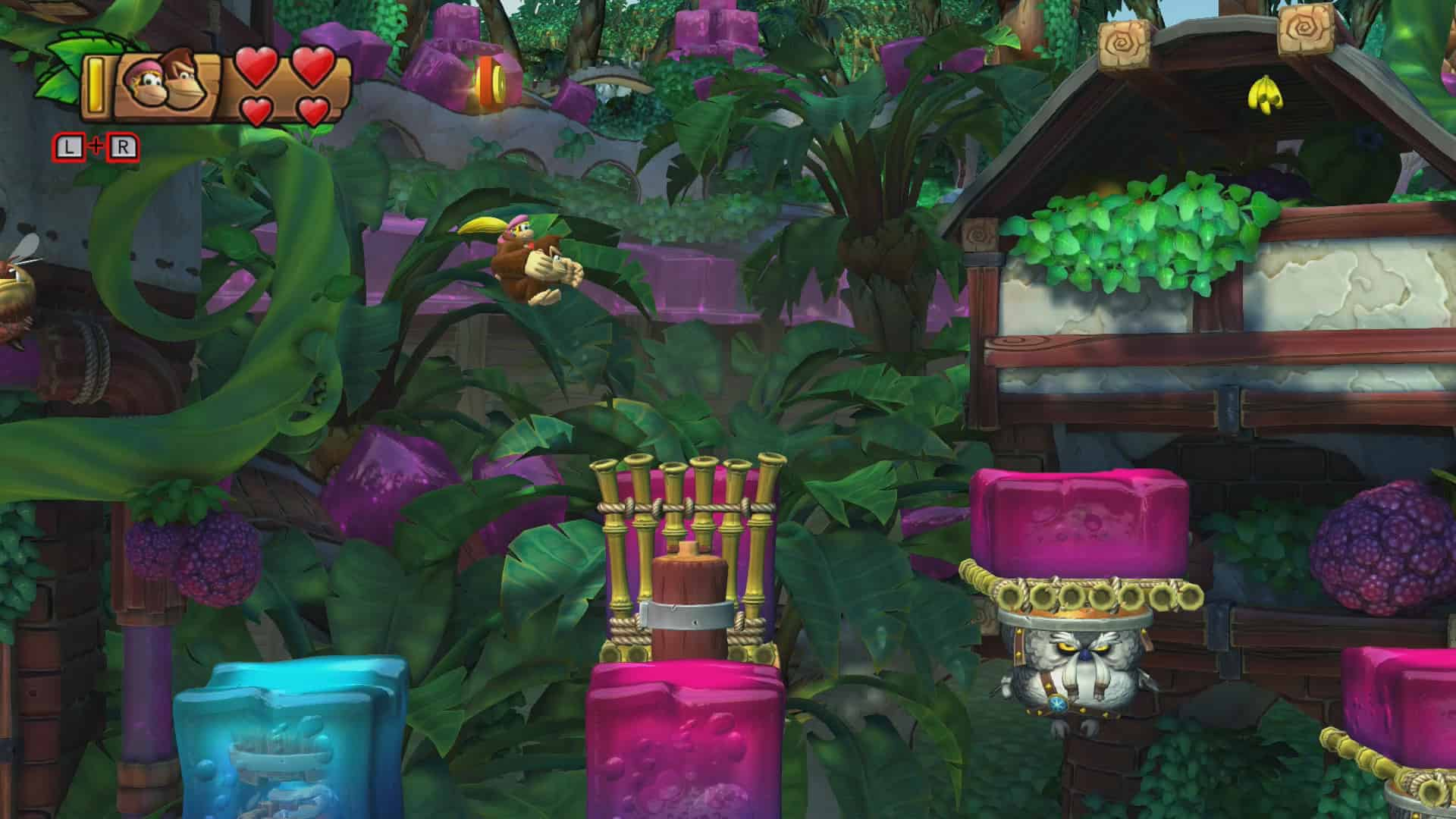 Donkey Kong Country: Tropical Freeze 5-5 Jelly Jamboree Screenshot