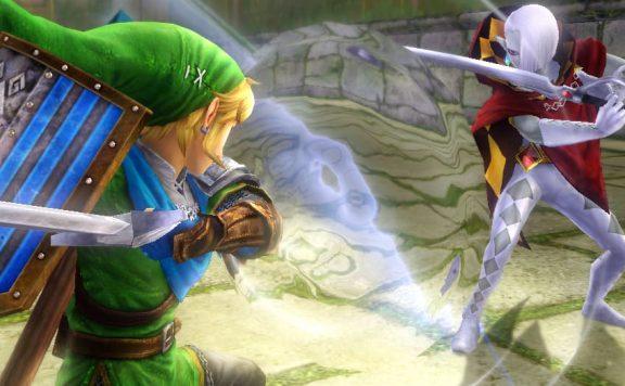 Hyrule Warriors Link vs Ghirahim Screenshot