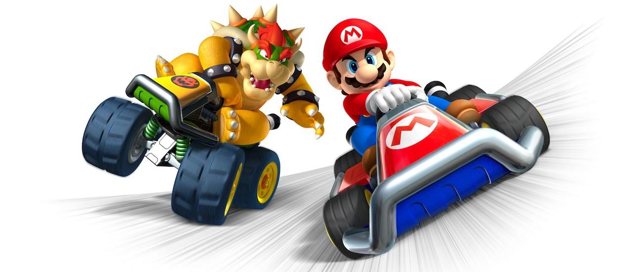 Mario Kart 7 Artwork