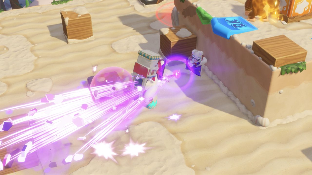Mario + Rabbids Kingdom Battle: Donkey Kong Adventure Preview Screenshot 4