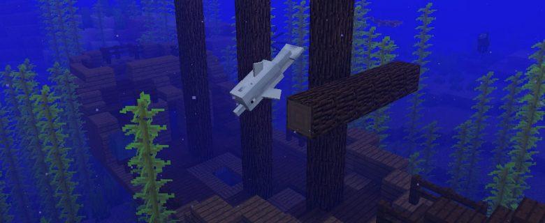 Minecraft Aquatic Update Screenshot