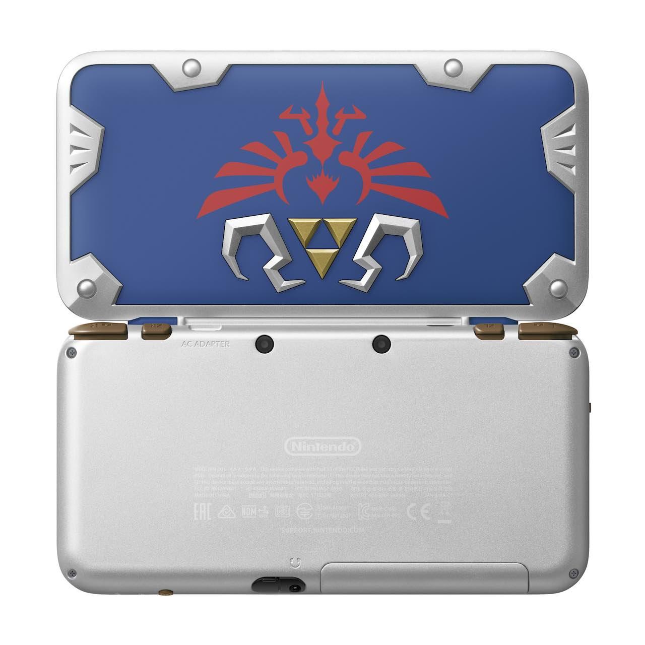 New Nintendo 2DS XL Hylian Shield Edition Photo 2