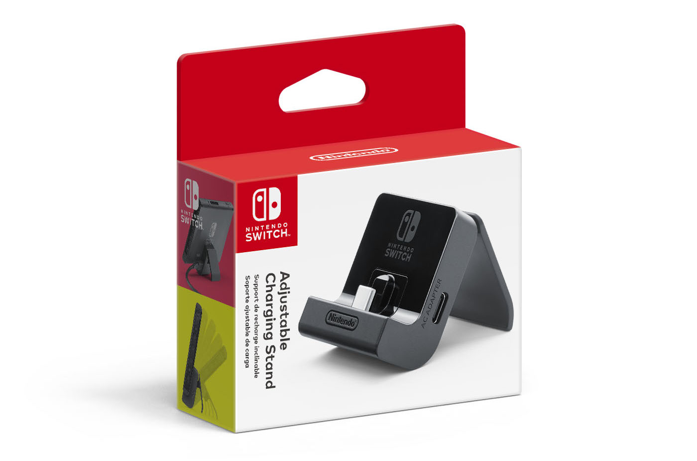 Nintendo Switch Adjustable Charging Stand Packaging