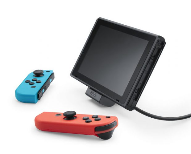 Switch adjustable charging stand announced