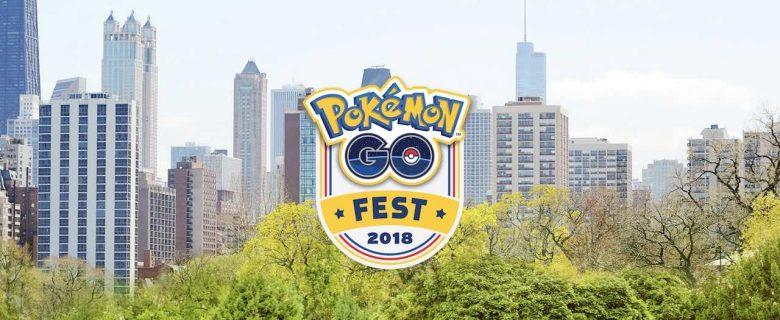 Pokémon GO Fest 2018 Logo