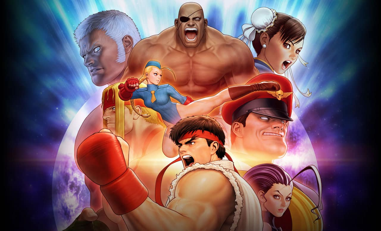 Street Fighter 30th Anniversary Collection Artwork