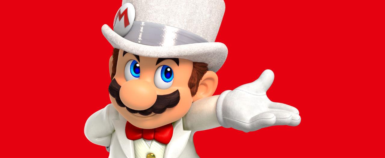 Super Mario Odyssey Wedding Suit Artwork