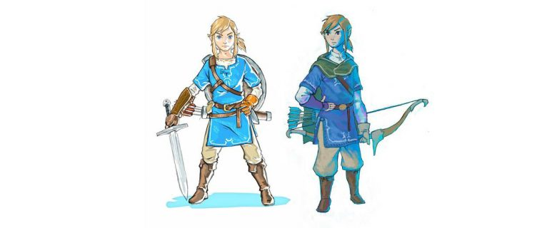 The Legend Of Zelda: Breath Of The Wild Concept Artwork