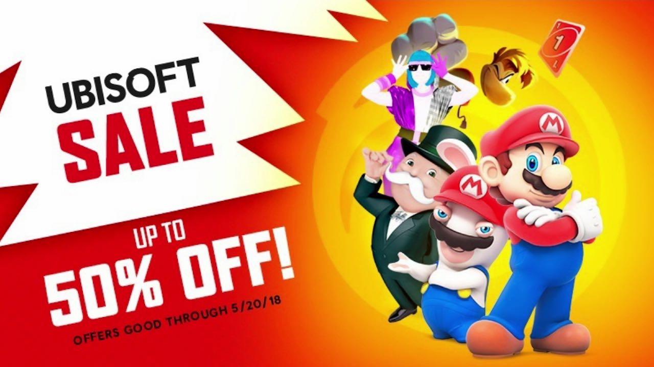 Ubisoft Nintendo eShop Sale