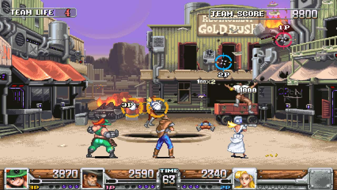Wild Guns Reloaded Review Screenshot 1