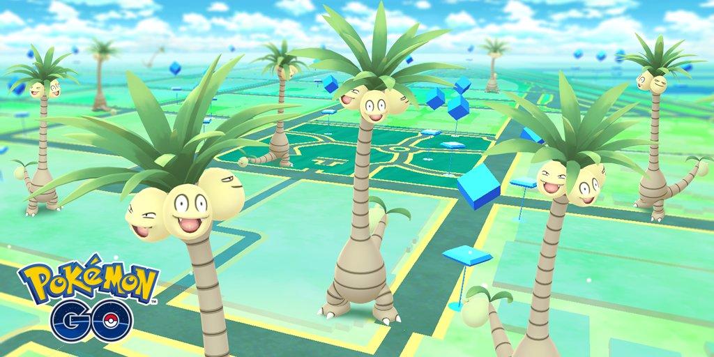 Alolan Exeggutor Pokémon GO Screenshot