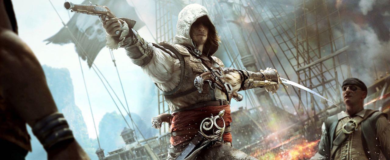 Assassin's Creed 4 Black Flag Artwork