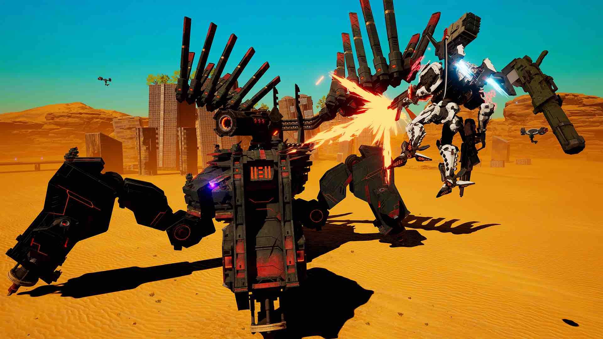 Daemon X Machina E3 2018 Screenshot 1