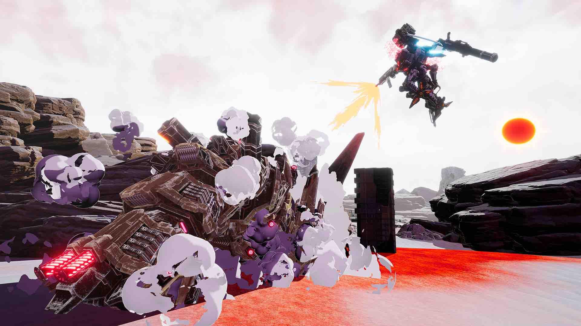 Daemon X Machina E3 2018 Screenshot 12