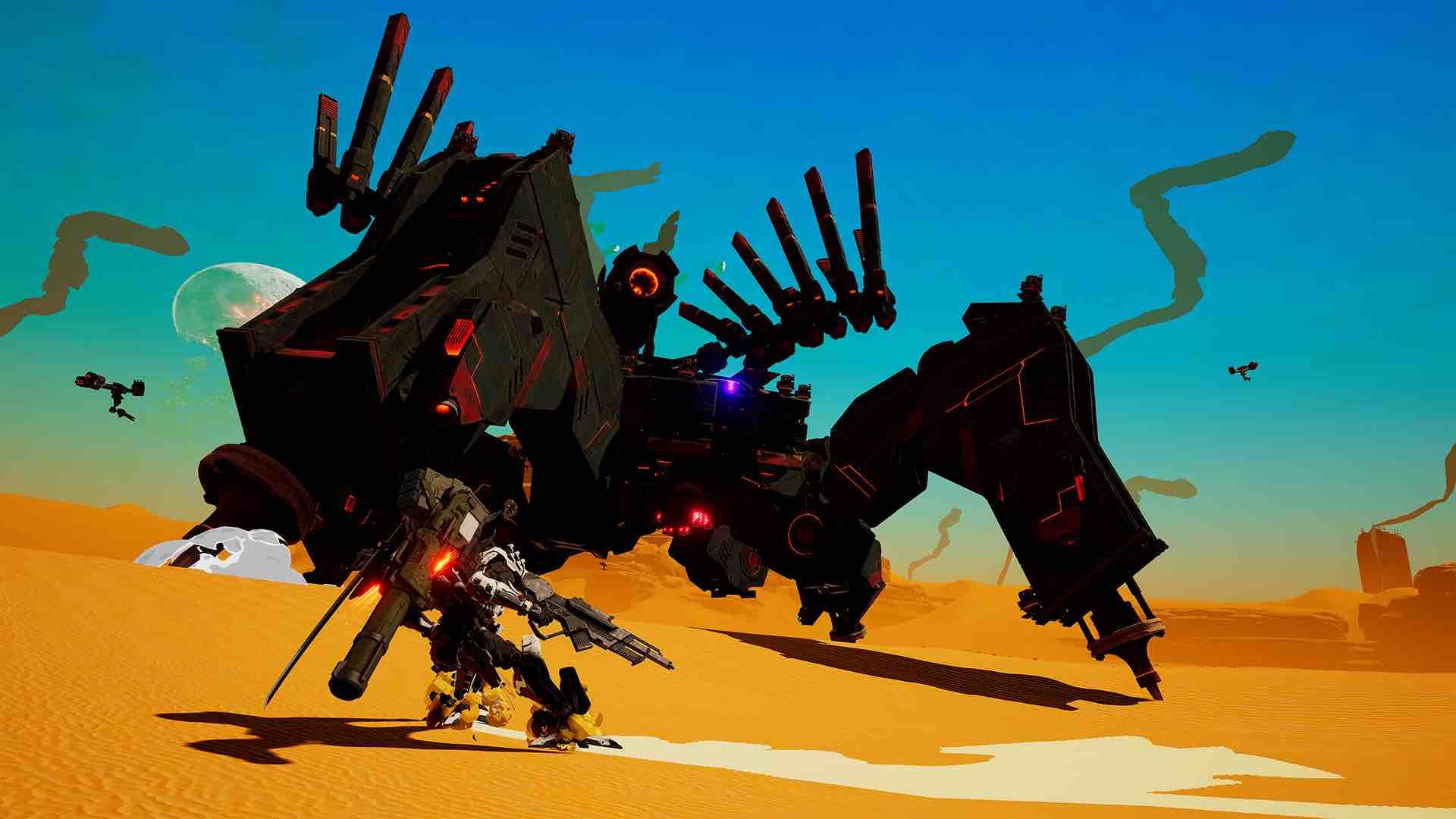 Daemon X Machina E3 2018 Screenshot 19