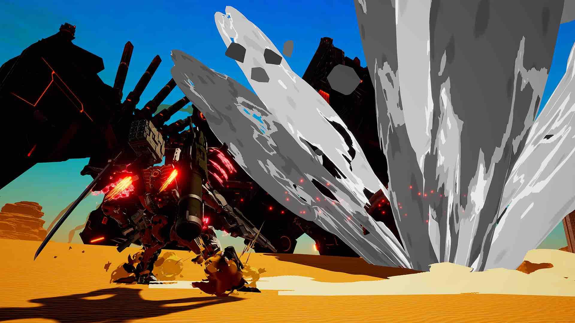 Daemon X Machina E3 2018 Screenshot 20