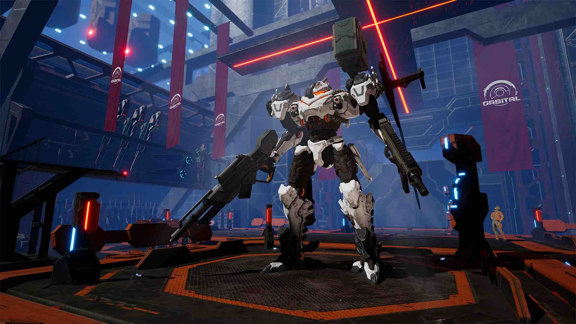 Daemon X Machina E3 2018 Screenshot 25