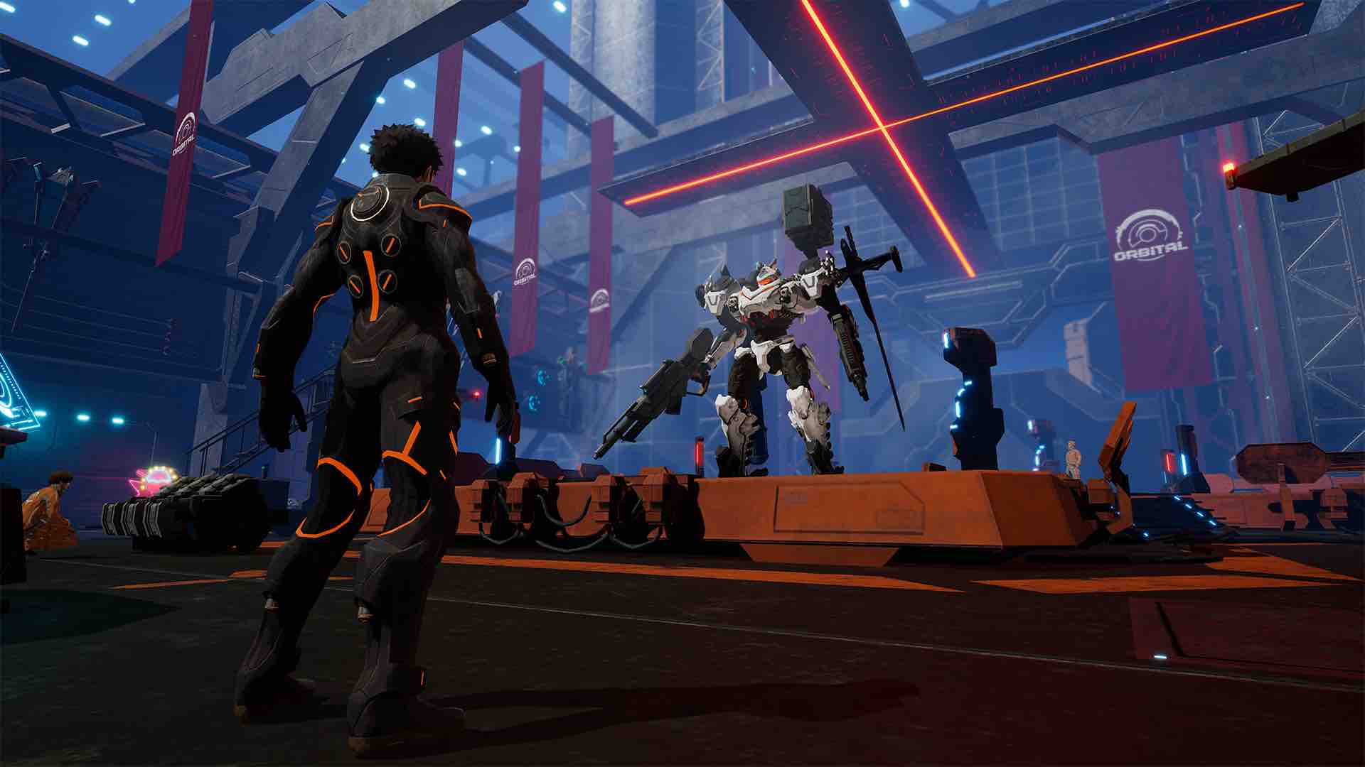 Daemon X Machina E3 2018 Screenshot 27