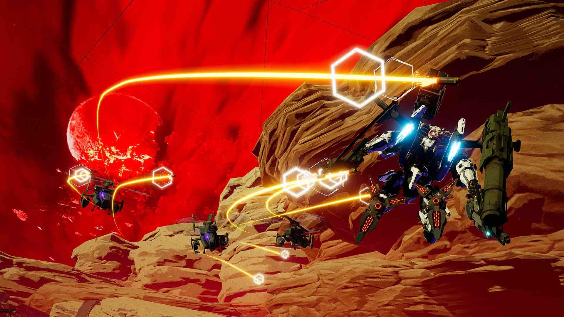Daemon X Machina E3 2018 Screenshot 6