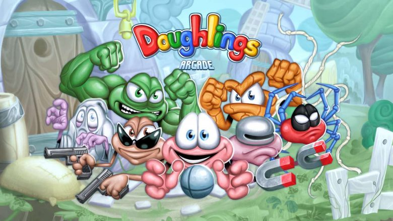 Doughlings: Arcade Artwork