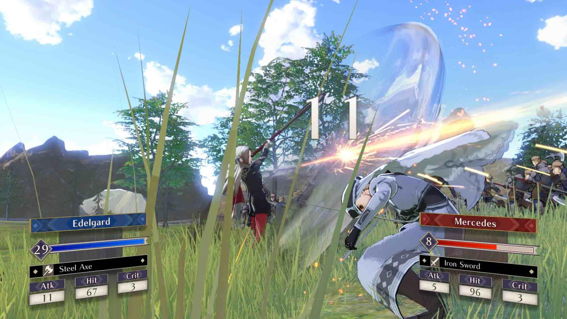 Fire Emblem: Three Houses E3 2018 Screenshot 10