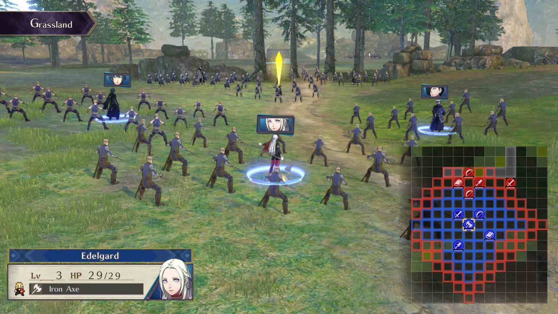 Fire Emblem: Three Houses E3 2018 Screenshot 11
