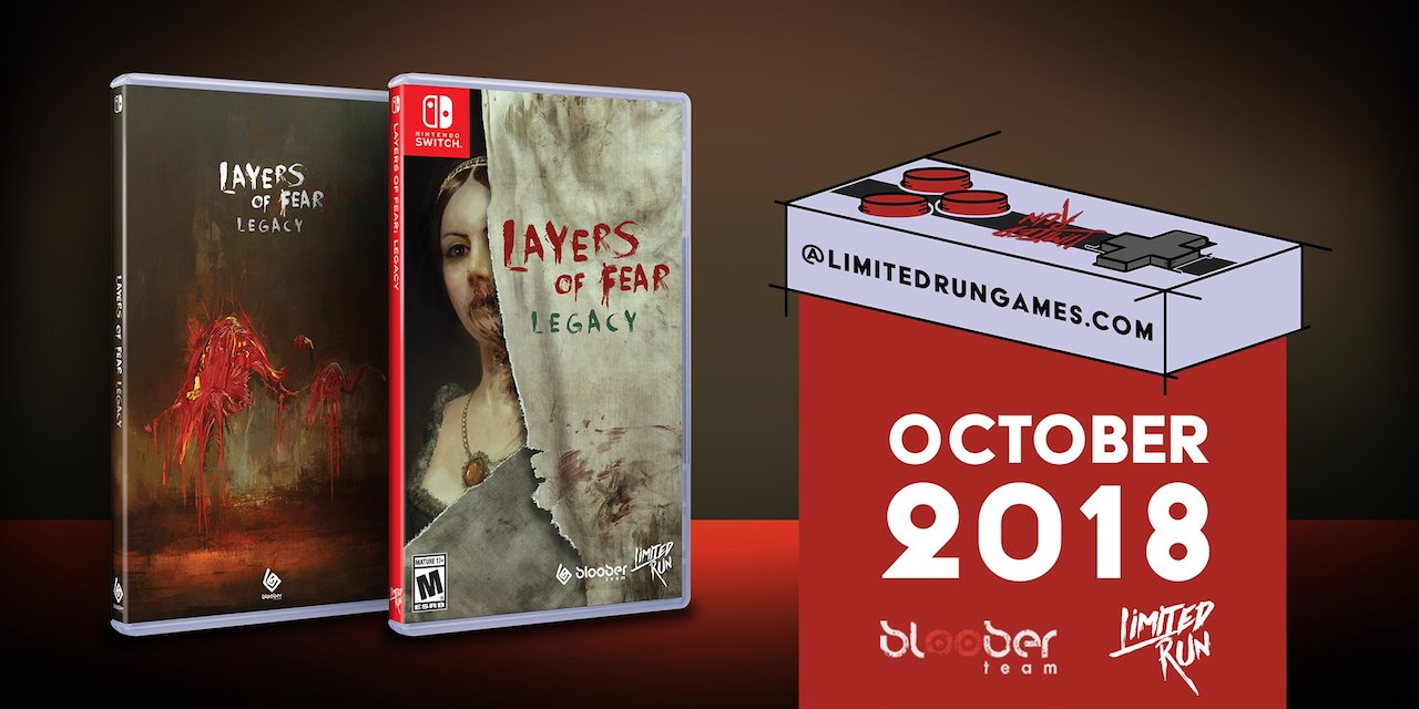 Layers Of Fear Legacy Limited Run Games