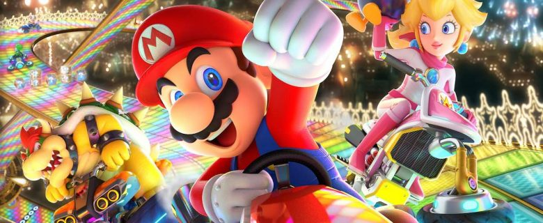 Mario Kart 8 Deluxe Box Artwork
