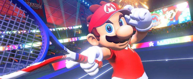 Mario Tennis Aces Classes Screenshot