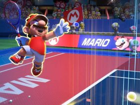 Mario Tennis Aces Shot Types Screenshot
