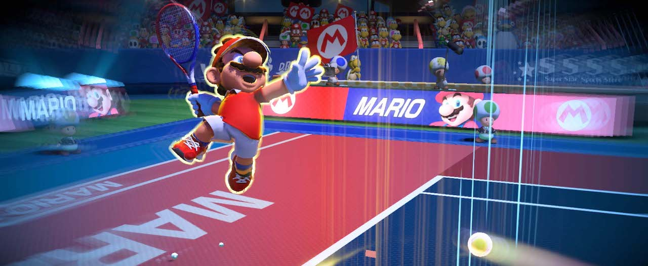 Mario Tennis Aces Shot Types Screenshot