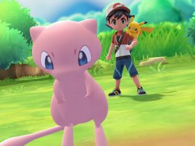 Mew Pokémon Let's Go Pikachu Eevee E3 2018 Screenshot