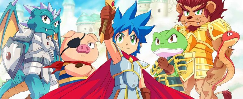 Monster Boy And The Cursed Kingdom Key Art