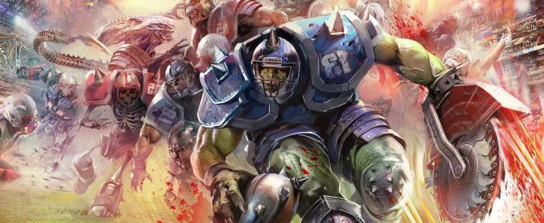Mutant Football League Artwork