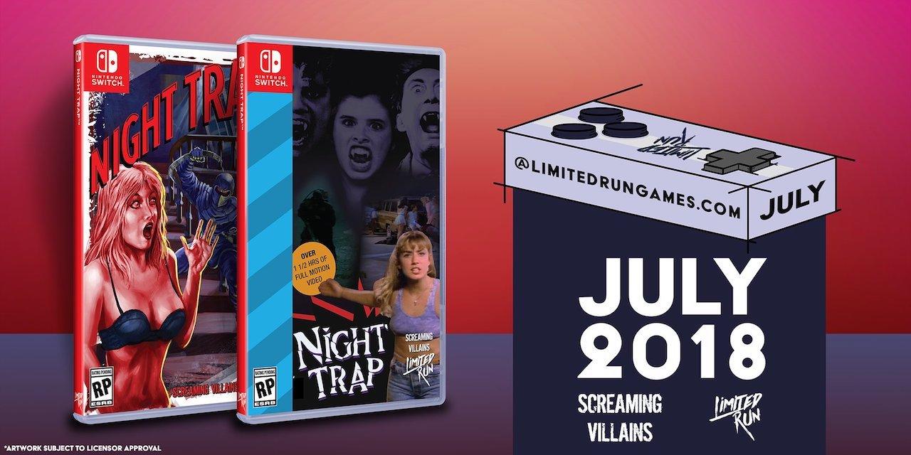 Night Trap Limited Run Games