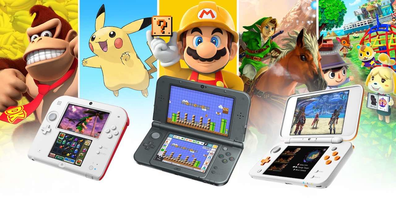 Nintendo 3DS Family Image