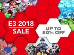 Nintendo eShop E3 2018 Sale Artwork