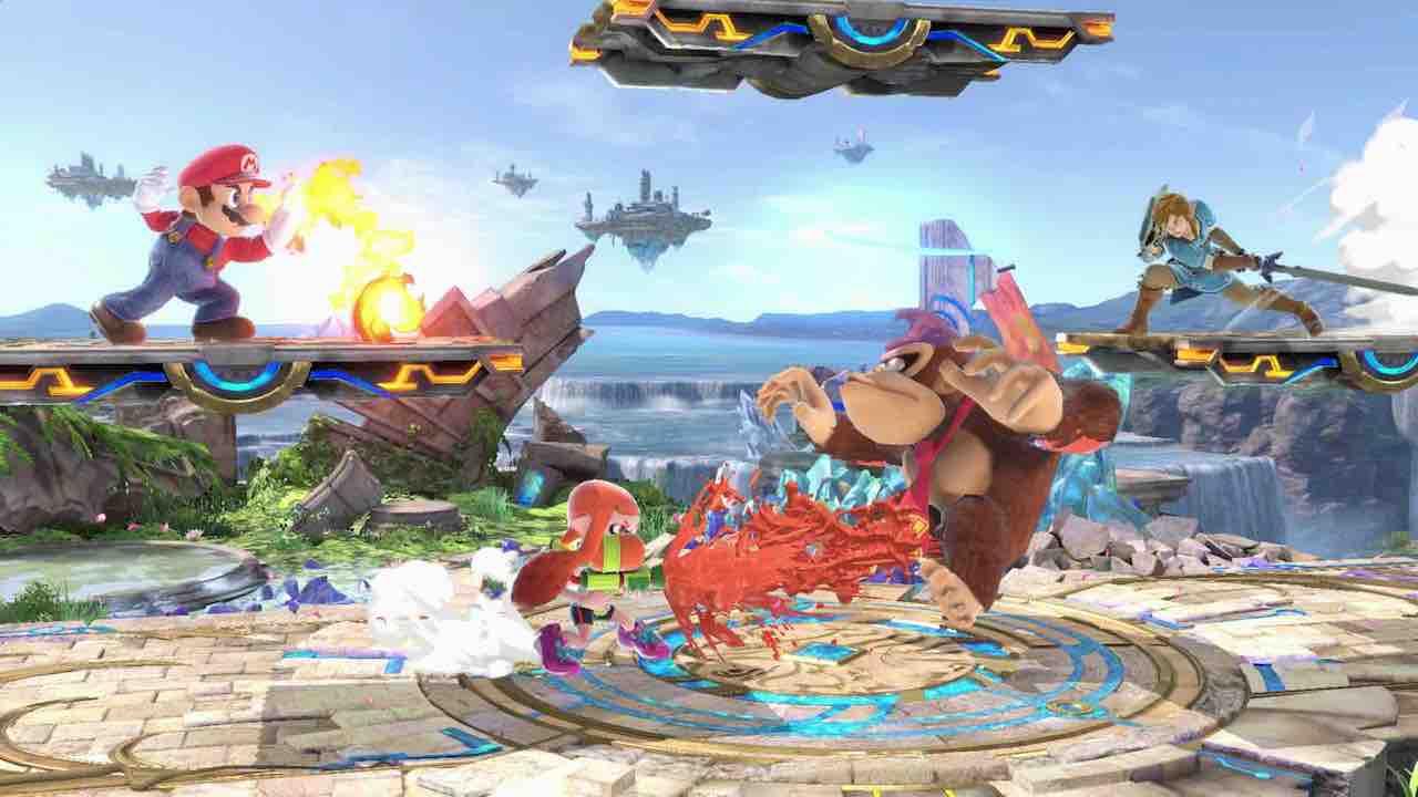 Nintendo UK VS Live Super Smash Bros. Ultimate Screenshot