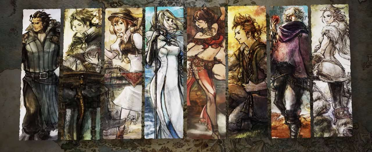 Octopath Traveler Review Header