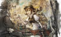 Octopath Traveler Tressa Artwork